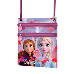 Bandolera Frozen 2 Action Vertical Believe 18x16x1cm.