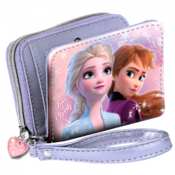Billetero Frozen Disney 2 Wind 9x12,5x3cm.