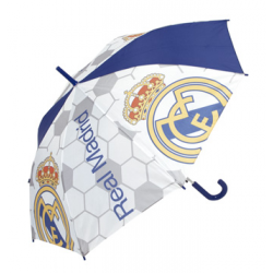 Paraguas Polyester Automatico Real Madrid 54cm.