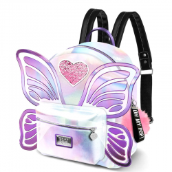 Mochila Oh My Pop Wings 27x21x15cm.