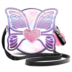 Bolso Bandolera Oh My Pop Wings 18x18x6cm.