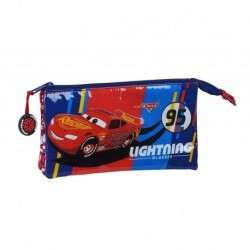 Portatodo Triple Cars Disney 22x12x3cm