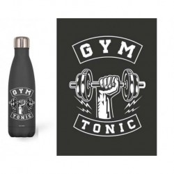 Botella Thermo Acero Inoxidable 500Ml. Gym Tonic.