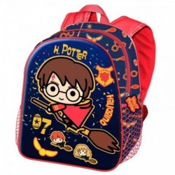 Mochila 3D Wand Harry Potter 31x27x11cm.