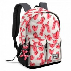 Mochila Oh My Pop Happy Flower Adaptable 30x20x44cm