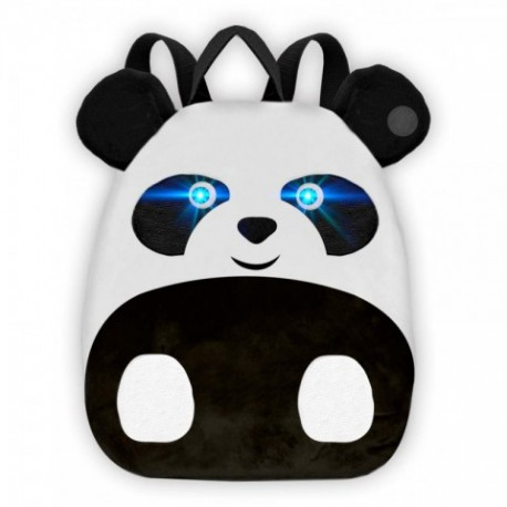 Mochila The Farm Panda Luz y Sonido 25x30x10cm