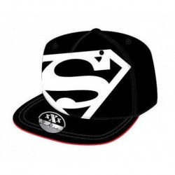 Gorra Superman DC Comic Visera Plana T.54-56