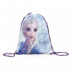 Saco Mochila Frozen Disney 44x33cm.