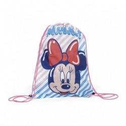 Saco Mochila Minnie Disney 44x33cm.