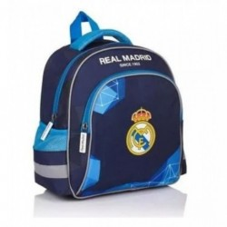 Mochila Infantil Real Madrid 39x27x11cm