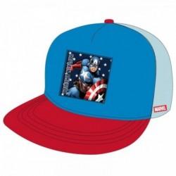 Gorra Premium Capitan America Marvel T.54-56-58
