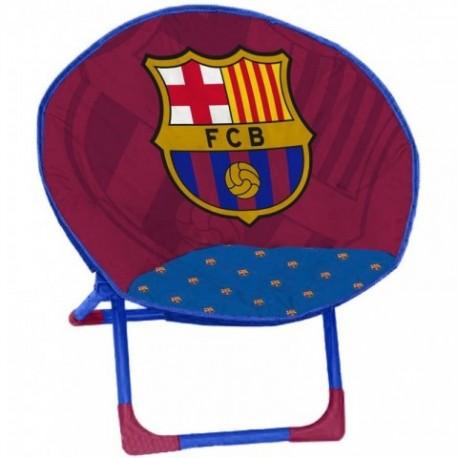 Silla Redonda F.C.Barcelona 50x50x50cm