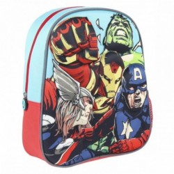 Mochila Avengers Marvel 3D 26x31x10cm
