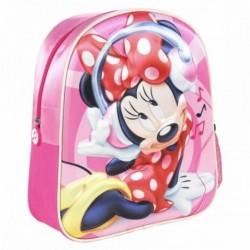 Mochila Minnie Disney 3D 26x31x10cm