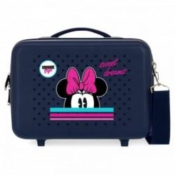 Neceser ABS Sweet Dreams Minnie Adaptable 21x29x15cm