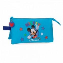 Portatodo Mickey Disney Triple 22x12x5cm.