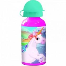 Botella Aluminio Unicornio 400ml