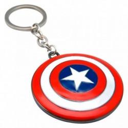 Llavero 3D Capitan America Marvel