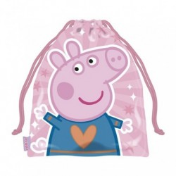Saquito Peppa Pig 26x21x5cm.