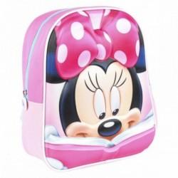 Mochila Minnie Disney 3D 25x31x10cm
