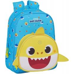 Mochila Infantil Con Musica Baby Shark, 27010x330c