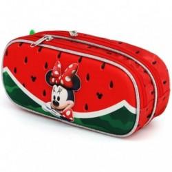 Portatodo Doble 3D Minnie Disney 10x22.5x7cm.