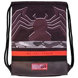 Saco Mochila Marvel Venom 34x47x1cm.