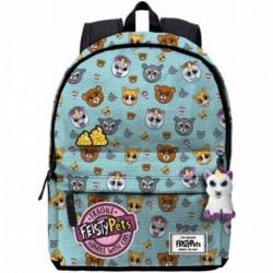 Mochila Feisty Pets Glenda Glitterpoop Adaptable 44x30x20cm.