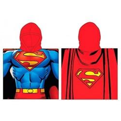 Poncho Superman DC Comics Microfibra 55x110cm.