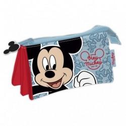 Portatodo Triple Mickey Disney 21x11x3.50cm.
