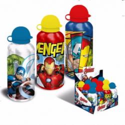 Botella Aluminio Avengers Marvel 500Ml.