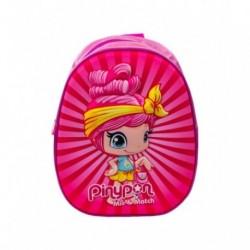 Mochila 3D Pinypon Basic 29x25x12cm