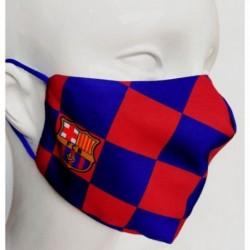Mascarilla Adulto F.C.Barcelona 50 Lavados Reutilizable