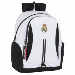 Mochila Real Madrid Adaptable 32x43x17cm.