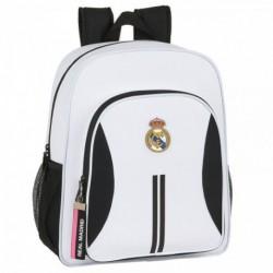 Mochila Real Madrid Adaptable 32x38x12cm.