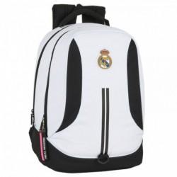 Mochila Real Madrid Adaptable 32x42x20cm.