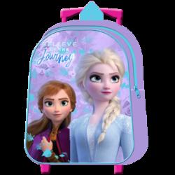 Mochila Frozen Disney ll Infantil C/Carro 30cm.
