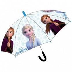 Paragua Automatico Transparente Frozen ll Disney 44cm.