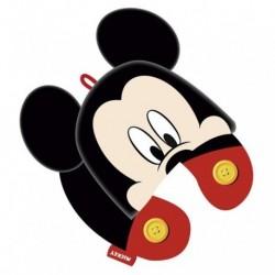 Cojin Cuello C/Capucha Mickey Disney 33cm.