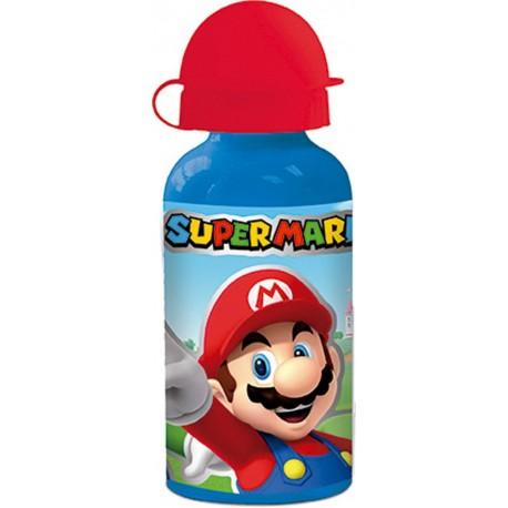 Botella Aluminio Super Mario 400Ml.