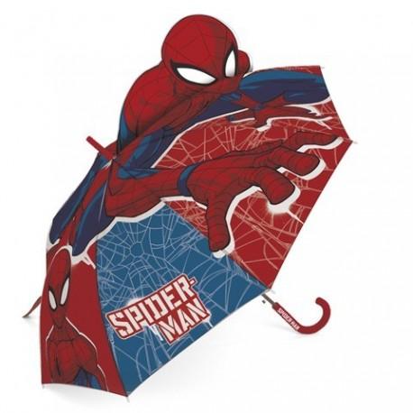 Paragua 3D Spiderman Marvel 48cm.
