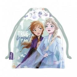 Saquito Merienda Frozen ll Disney 26.5x21.5cm.