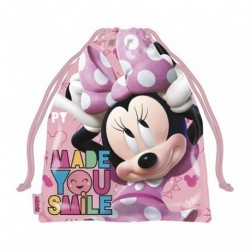 Saquito Merienda Minnie Disney 26.5x21.5cm.