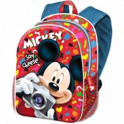 Mochila  Mickey Disney 40x31x15cm.