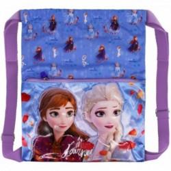 Saco Mochila Frozen ll Disney 35x41x1cm.