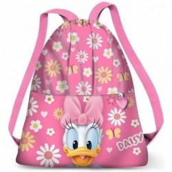 Saco Mochila Daisy Disney 35x41x1cm.