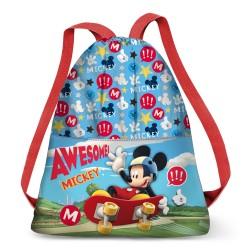 Saco Mochila Mickey  Disney 35x41x1cm.
