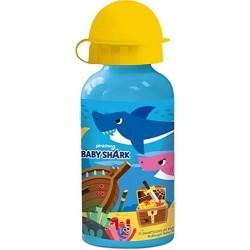 Botella Aluminio Baby Shark 400Ml.