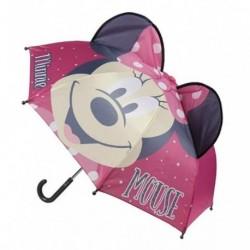 Paraguas 3D Manual Pop-Up Minnie Disney 45cm.