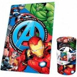 Manta Polar Avengers Marvel 150x100cm.